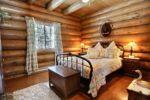 Chalet à louer Raton-Laveur Chambre avec lit Queen - Chalet Raton-Laveur