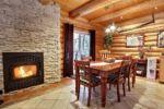 Chalet à louer Aventurier Foyer en pierre - Chalet Ours Blanc