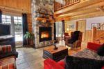 Chalet à louer Wapitik Foyer au bois - Chalet Wapitik