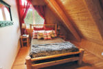Chalet à louer Orignal Chambre avec lit Queen - Chalet Orignal