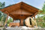 Chalet à louer Ours Noir Spa et sauna privés - Chalet Ours Noir
